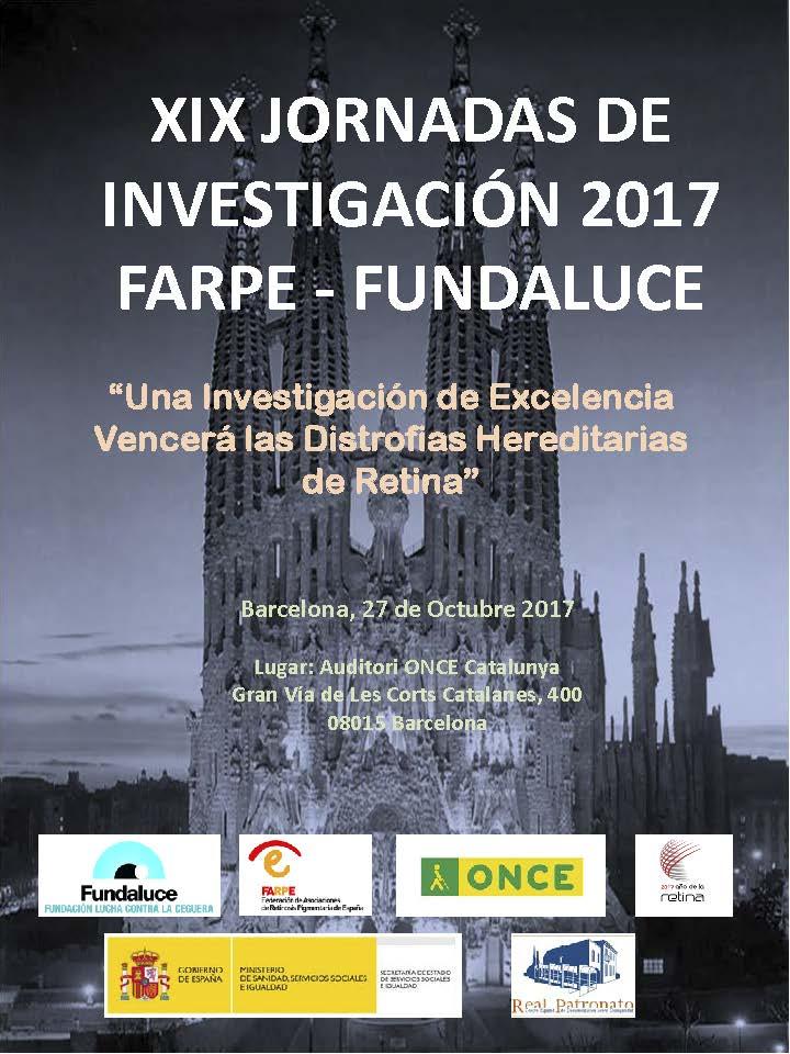 Jornadas Farpe y Fundaluce 2017