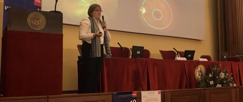 CONFERENCIA SOBRE LA DEGENERACIÓN MACULAR ASOCIADA A LA EDAD EN EL SIGLO XXI EN EL MARCO DE '2017. AÑO DE LA RETINA EN ESPAÑA'
