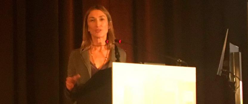 La presidenta de la Fundación Retinaplus+ desgrana los proyectos de '2017. Año de la Retina en España' en el marco del congreso SERV